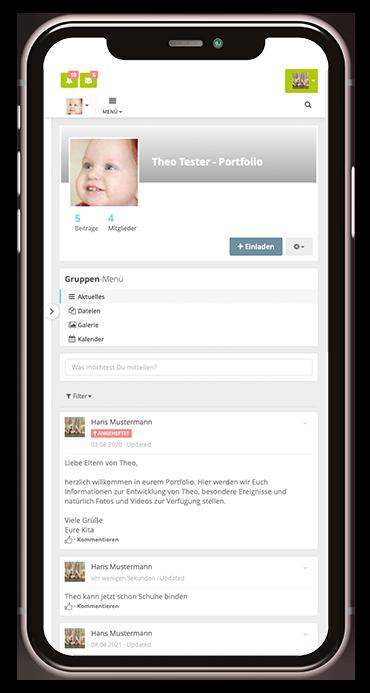 Entwicklungsdokumentation der Kita-App Stramplerbande